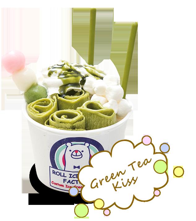 Green Tea Kiss
